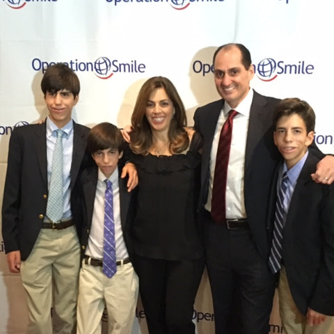 At the Operation Smile Gala in San Francisco a few weeks ago.