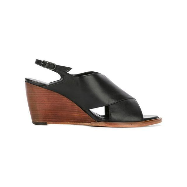 Leather-Black-Wedge-Robert-Clergerie