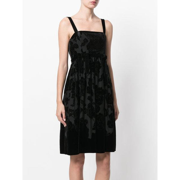 Black-silk-velvet-dress-Blugirl