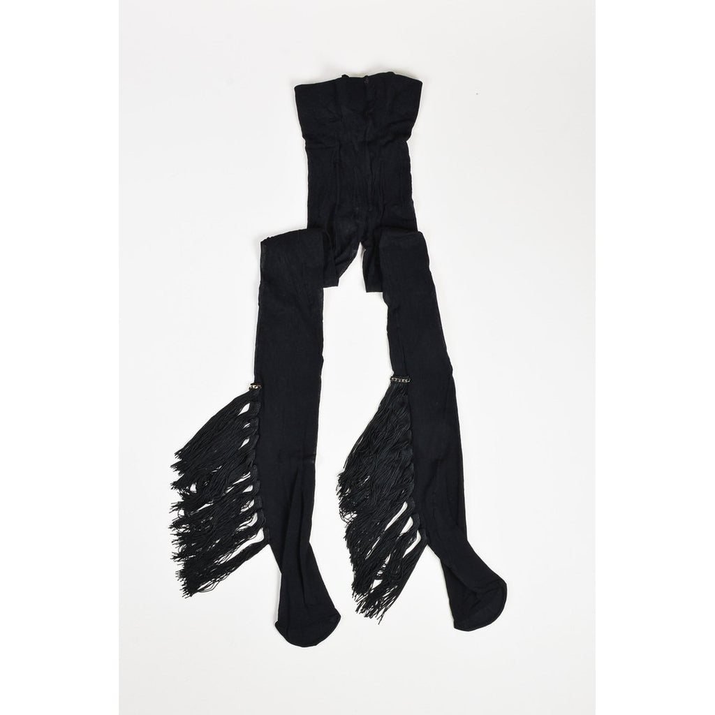 Le Déjeuner Black Tassle Stockings by Nicolas Messina - The Perfect Provenance