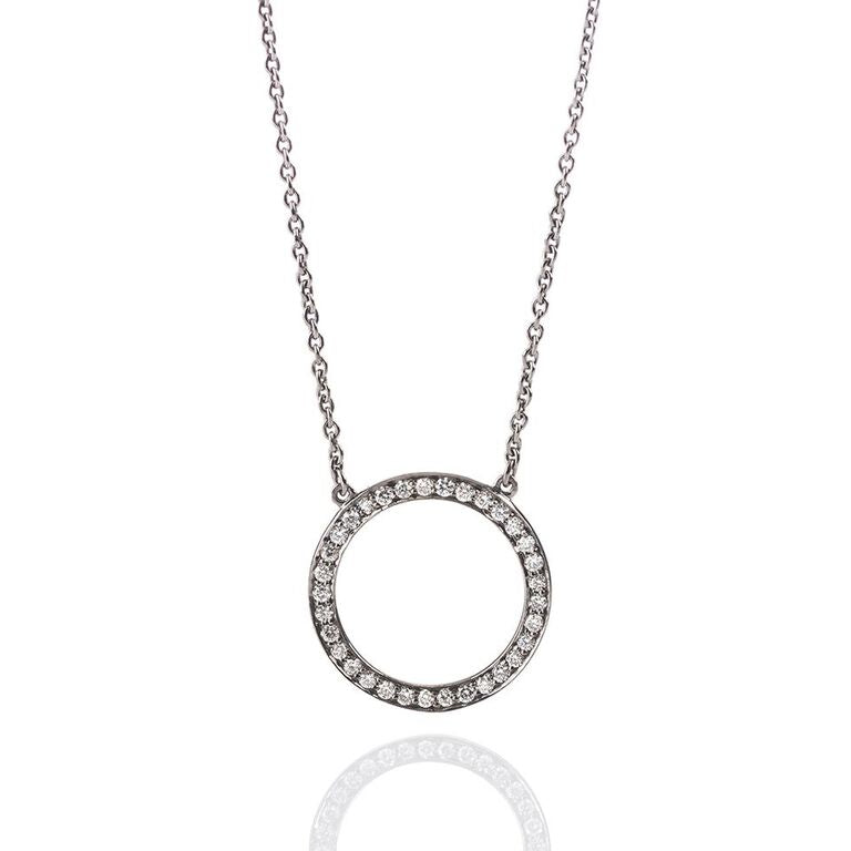 small-circle-diamond-necklace