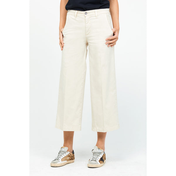 Devin Cropped Pants in Khaki by Baldwin - The Perfect Provenance