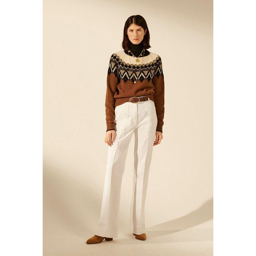 ULTRA SOFT CORDUROY JAME TROUSERS by Vanessa Bruno