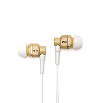Bamboo Avalon Earbuds by LSTN - The Perfect Provenance