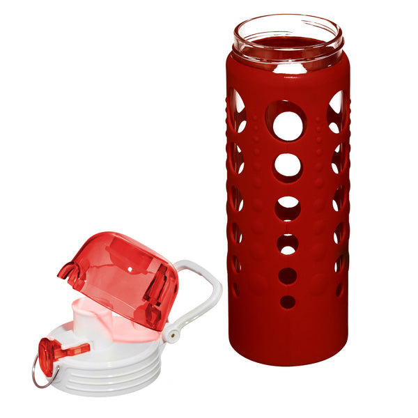water bottle-artland-red-plastic