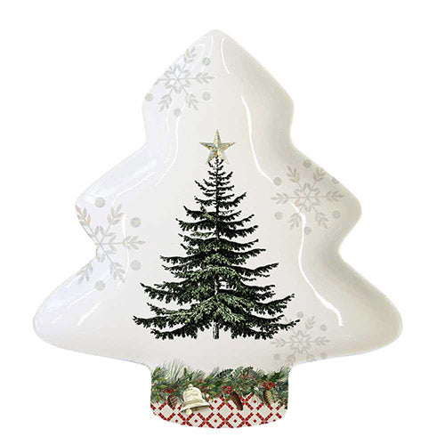 Tree Candy Plate By Paper Products