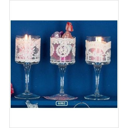 Tealight Lace Holders by Hoff Interieur - The Perfect Provenance