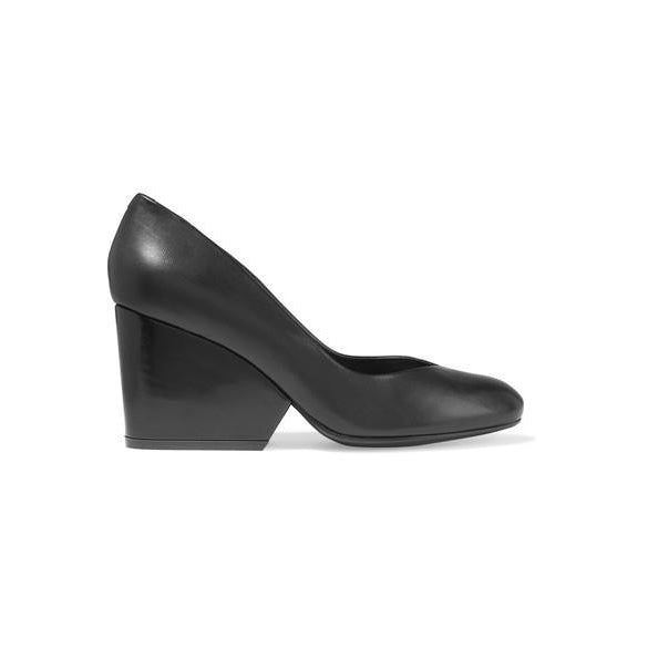 Tessy Heel in Black or Mauve by Robert Clergerie - The Perfect Provenance