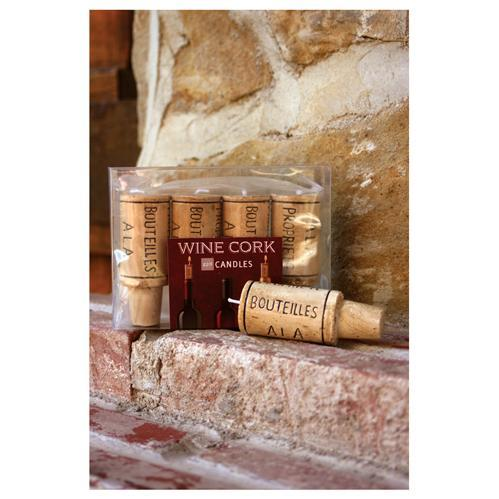 Wine Cork Candle by Paper Products