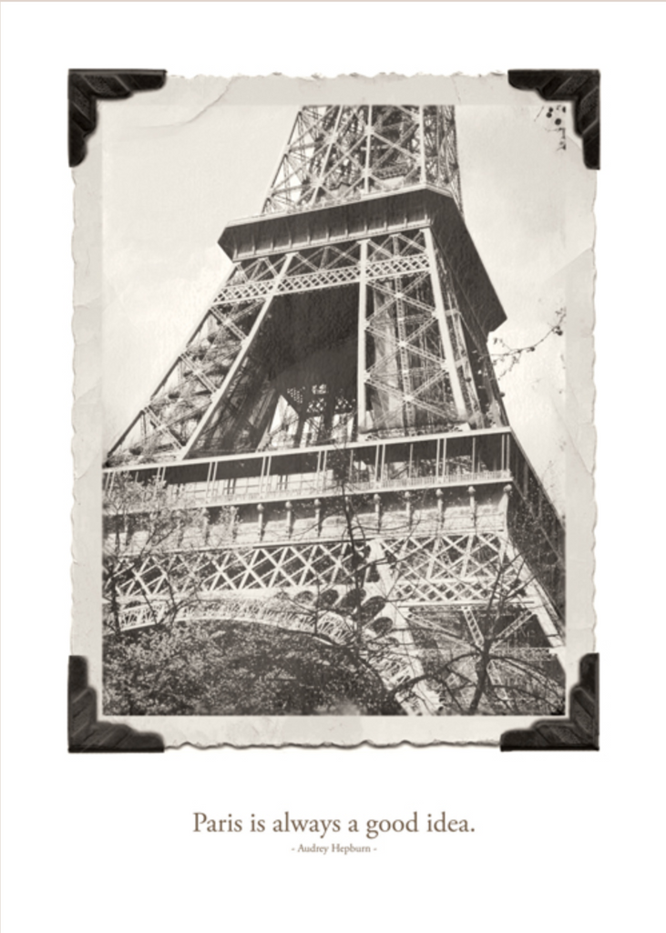 Paris is Always a Good Idea Greeting Card by B Street