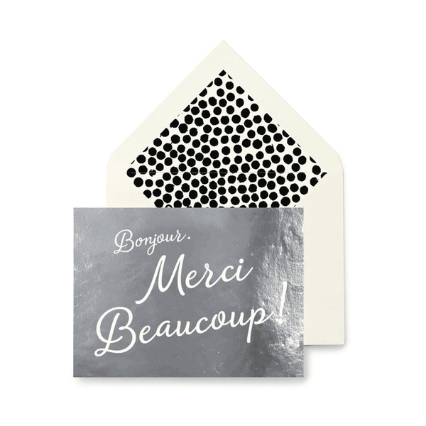 Merci Beaucoup Greeting Card