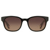 Ann Demeulemeester - Black and Tortoiseshell Sunglasses