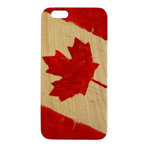 Wooden Flag iPhone 6 Cases by Cedar Mountain