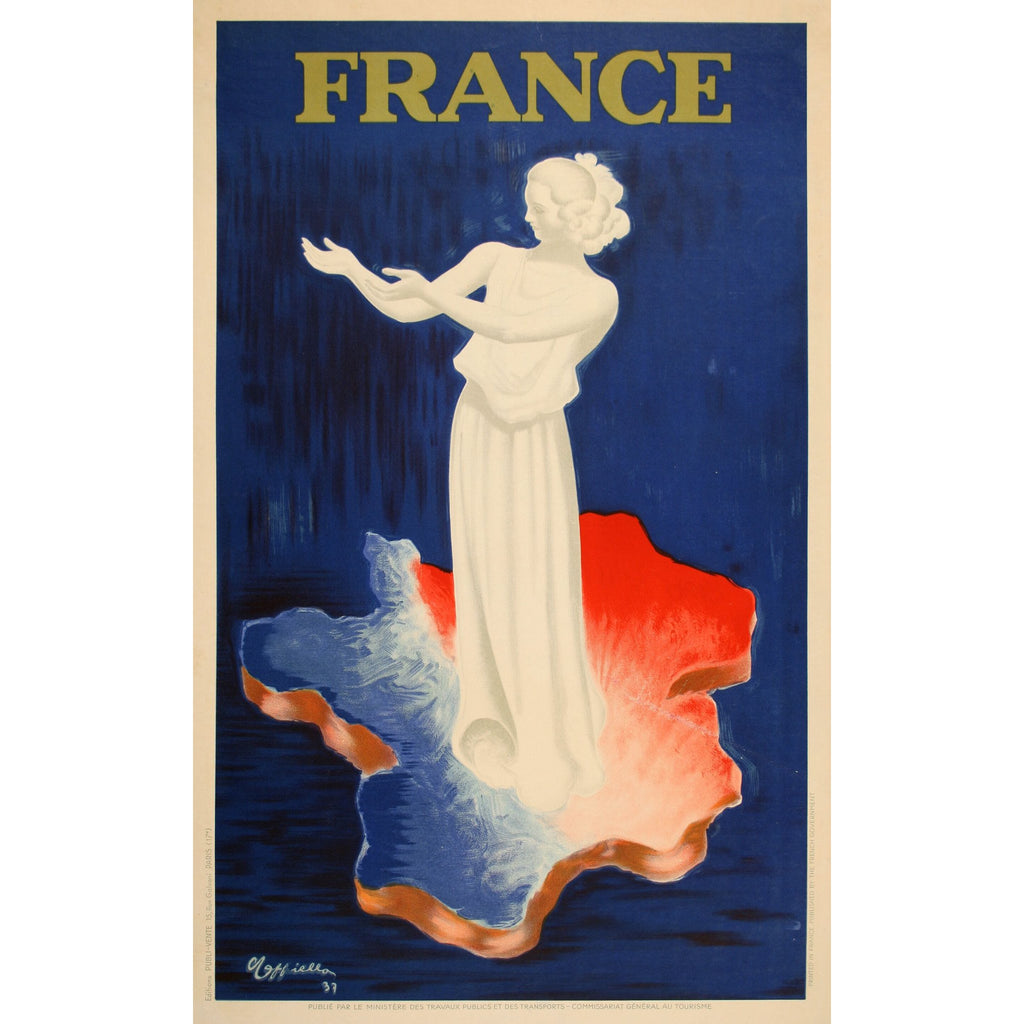 France by Leonetto Cappiello 1937