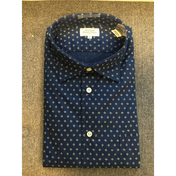 Navy Button-Up by Hartford