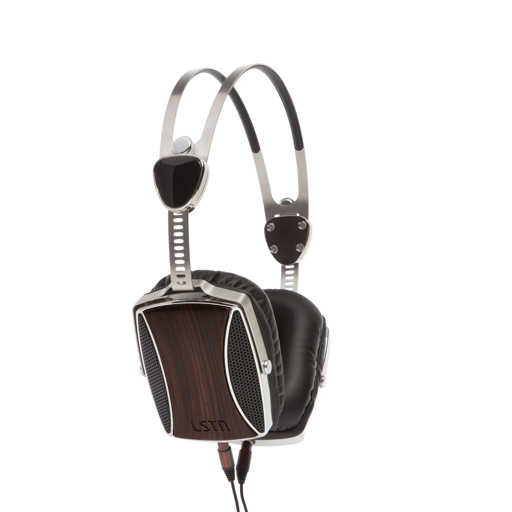 Encore Over the Ear Headphones in Ebony by LSTN - The Perfect Provenance