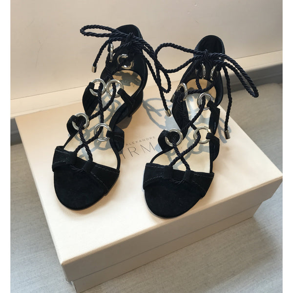 Olivia Black Sandal By Alexandre Birman - The Perfect Provenance