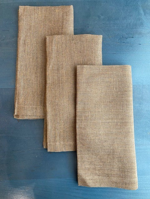 Provence Napkins in Tobacco or Plum by Bodrum - The Perfect Provenance
