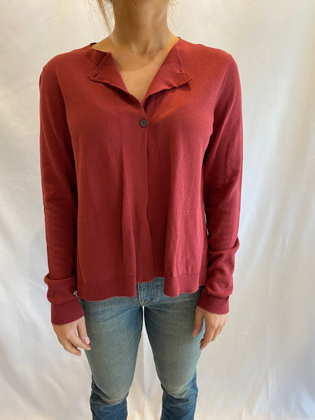 Red Cardigan by Tonet