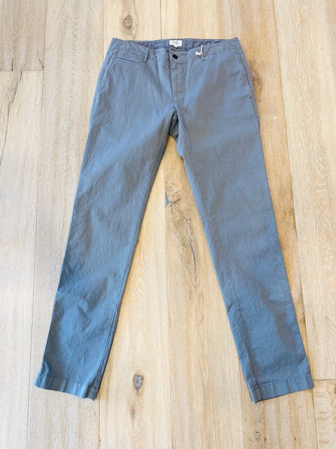 Grey Cotton Trouser in Two Shades by Hartford - The Perfect Provenance