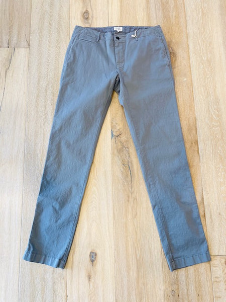 Grey Cotton Trouser by Hartford