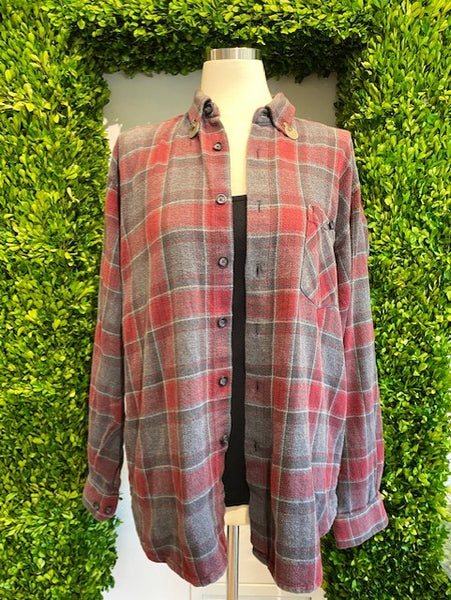 Custom Red Flannel by Miss June - The Perfect Provenance