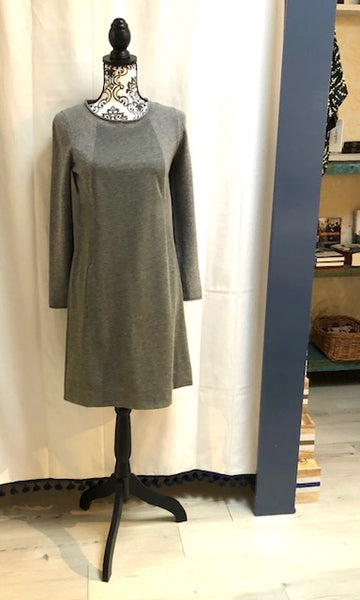 Grey Wool Dress by Tonet