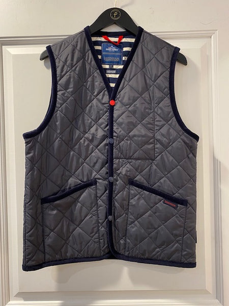 Dublin Navy Vest by Saint James