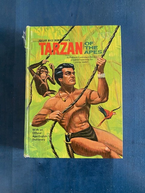 Vintage Tarzan of the Apes by Edgar Rice Burrough