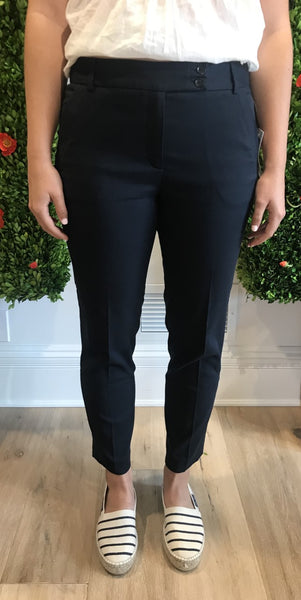 Cotton Navy or White Pants by Gerard Darel - The Perfect Provenance