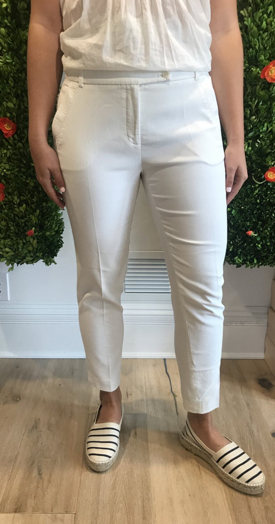 Cotton White or Navy Pants by Gerard Darel - The Perfect Provenance
