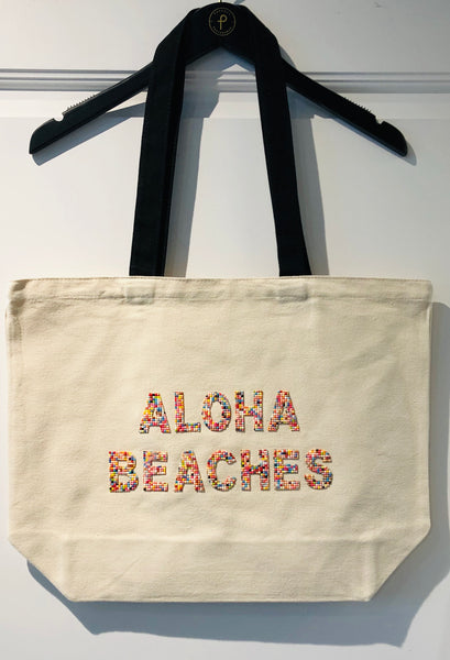 Aloha Beaches Bead Tote by Fallon & Royce