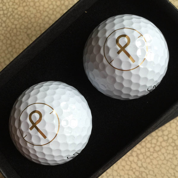 The Perfect Provenance Titleist Pro V 1 Golf Ball Set of Two