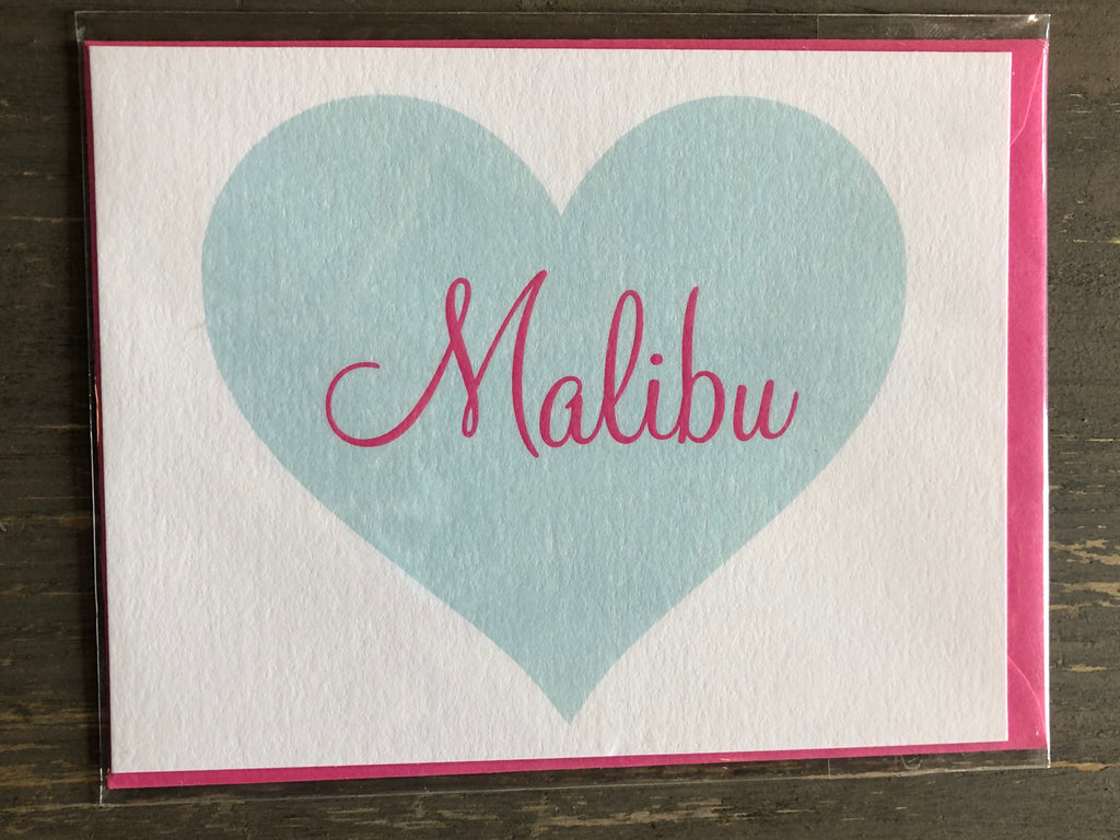 Malibu Greeting Card - The Perfect Provenance