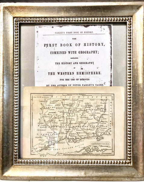 Vintage Map of Connecticut - The Perfect Provenance