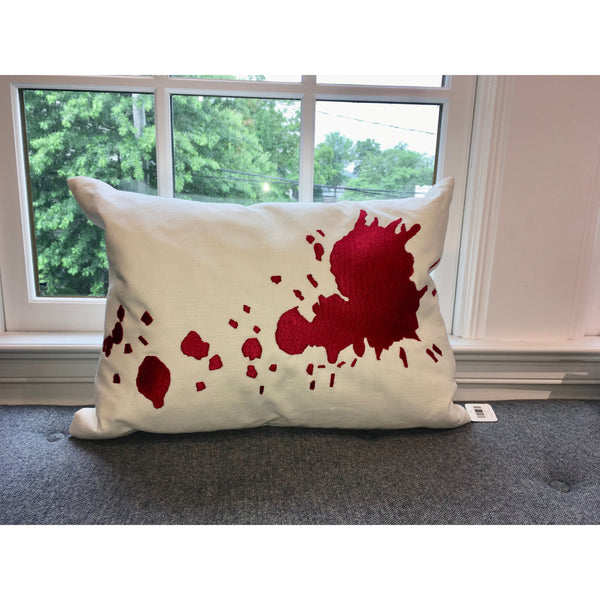 Java/Red Burst Pillow