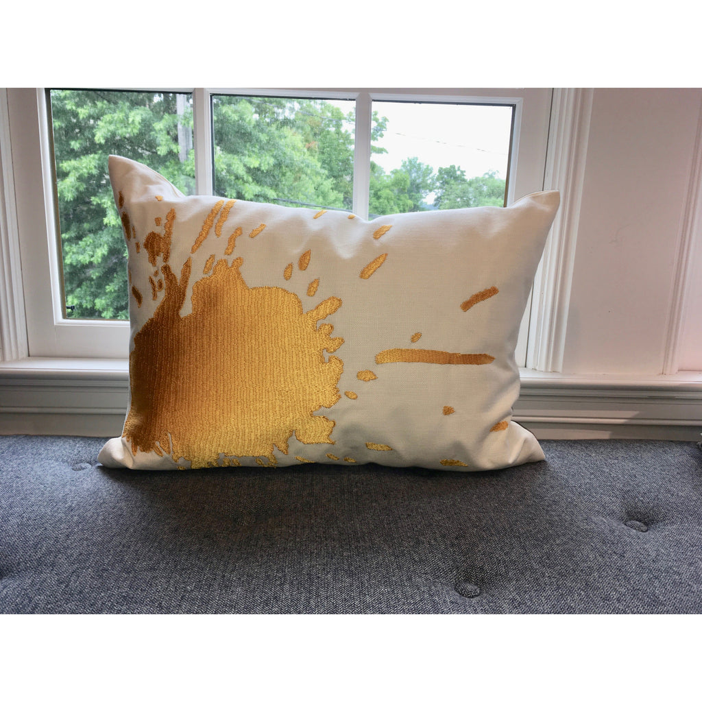 Java /Yellow Burst Pillow