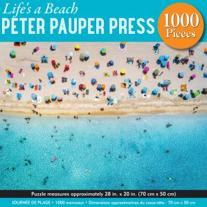 Life's a Beach 1,000 Piece Puzzle by Peter Pauper Press