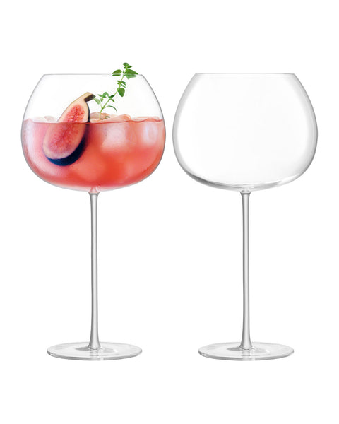 Bar Culture Balloon Glasses by LSA International