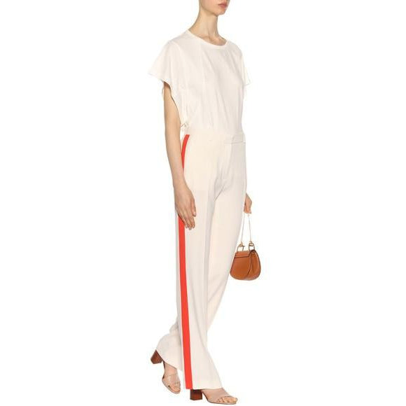 white-orange-stripe-pant-vanessa bruno