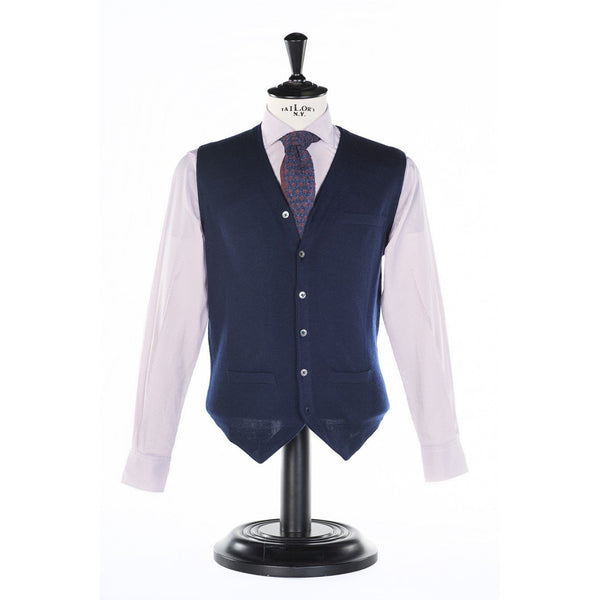 Navy Vest by Paul Taylor - The Perfect Provenance