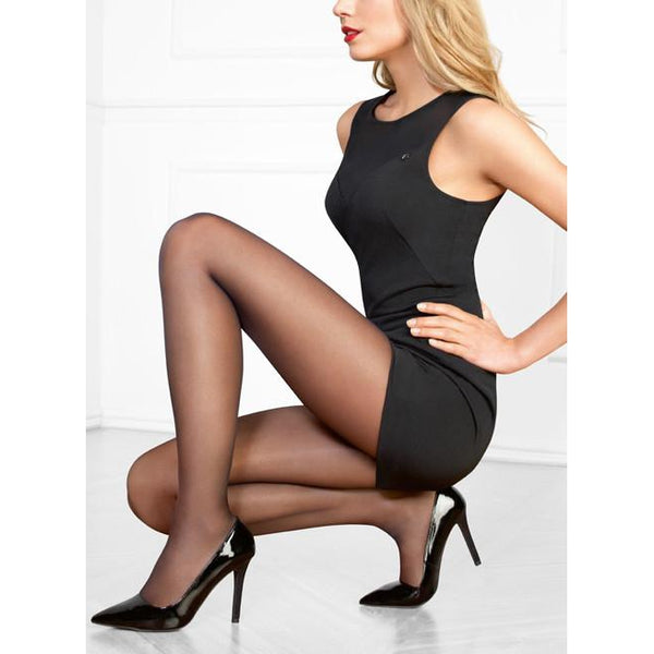 Perfect Chic Black Tights by Le Bourget