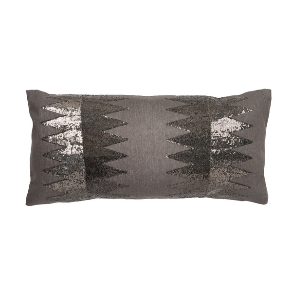 Chrysler Sequin Pillow by Aandaz - The Perfect Provenance