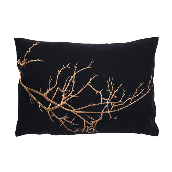 Branches Linen Pillow by Aandaz - The Perfect Provenance