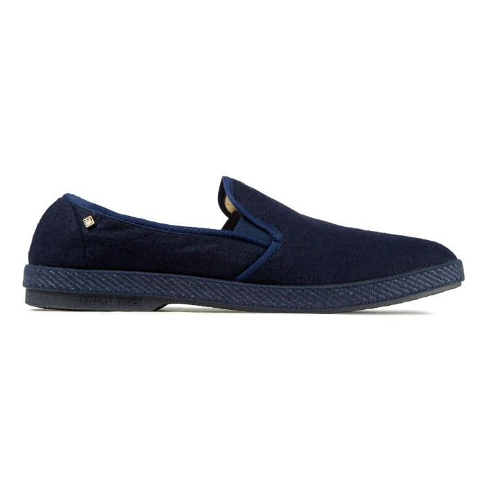 Navy Manoir Slip-On by Rivieras - The Perfect Provenance