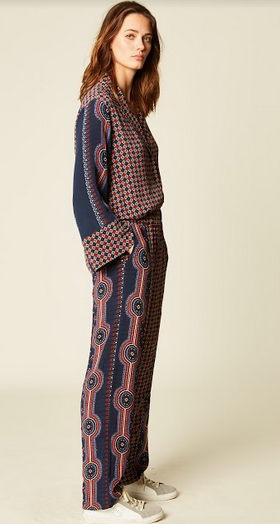 Java Printed Pants by Stella Forest - The Perfect Provenance