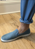 Light Blue Jean Shoe by Rivieras - The Perfect Provenance