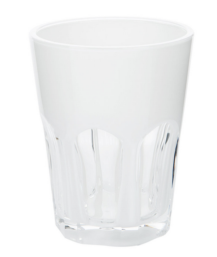 Double Face Acrylic White Tumbler by Mario Luca Giusti - The Perfect Provenance