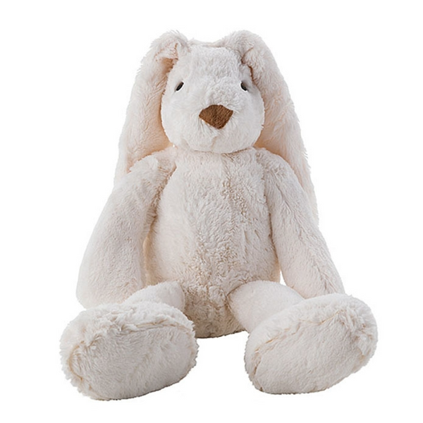 White Rabbit Plush Animal by Fiorira un Giardino - The Perfect Provenance