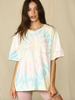 Tie Dye Short Sleeve Tee by ByTogether - The Perfect Provenance